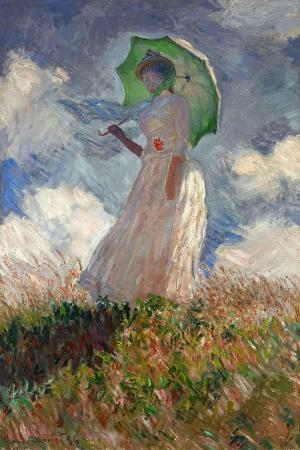The Woman With a Parasol, 1886
