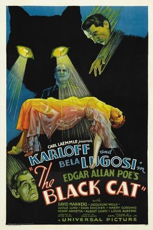 """The House of Doom, 1934, """"The Black Cat"""" Directed by Edgar Ulmer"""