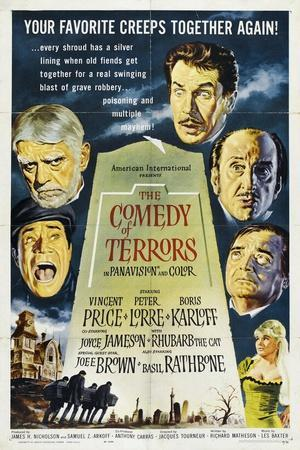 The Comedy of Terrors, 1963, Directed by Jacques Tourneur