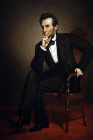 Portrait of Abraham Lincoln, 1887