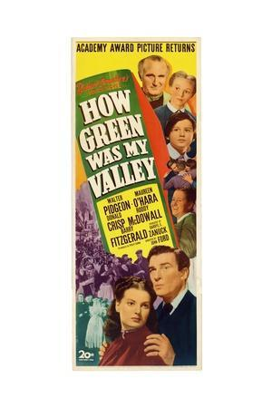 """How Green Was My Valley"" 1941, Directed by John Ford"