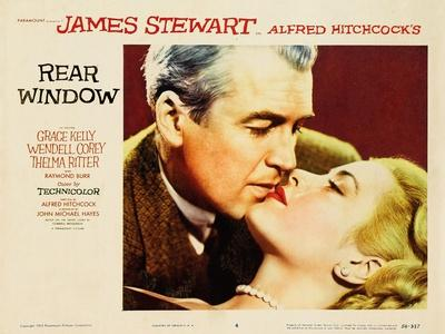 """Alfred Hitchcock's Rear Window, 1954, """"Rear Window"""" Directed by Alfred Hitchcock"""