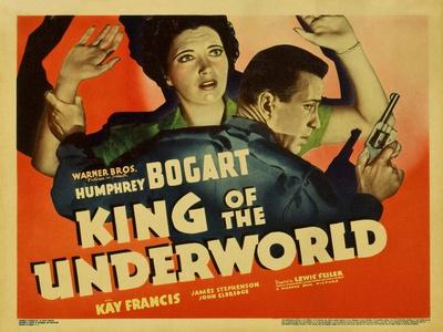 """Unlawful, 1939, """"King of the Underworld"""" Directed by Lewis Seiler"""