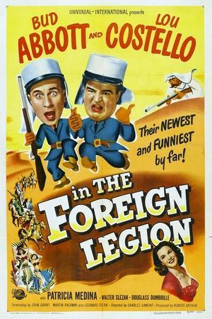 """Foreign Legion, 1950 """"Abbott And Costello In the Foreign Legion"""" Directed by Charles Lamont"""