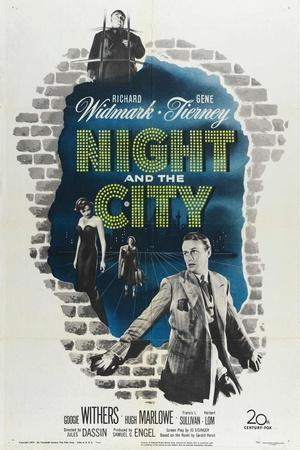 Night And the City, 1950, Directed by Jules Dassin