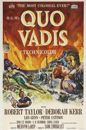 Quo Vadis, 1951, Directed by Mervyn Leroy