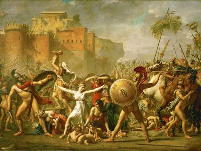 The Intervention of the Sabine Women, 1799