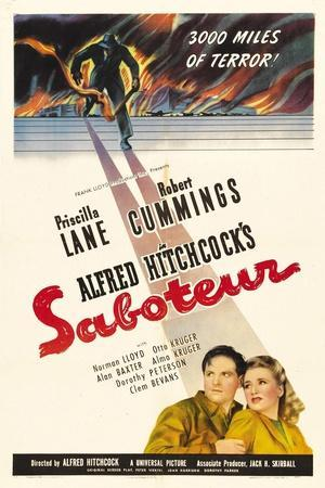 Saboteur, 1942, Directed by Alfred Hitchcock