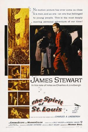 The Spirit of St. Louis, 1957, Directed by Billy Wilder