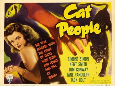 Cat People, 1942, Directed by Jacques Tourneur