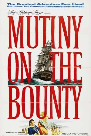 Mutiny On the Bounty, 1962, Directed by Lewis Milestone