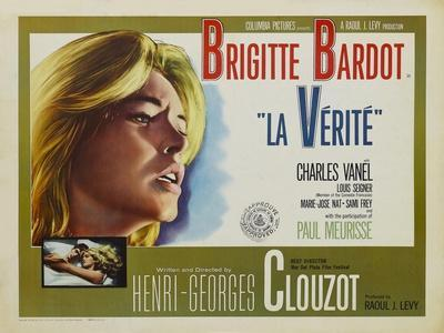 """The Truth, 1960 """"La Verite"""" Directed by Henri-georges Clouzot"""