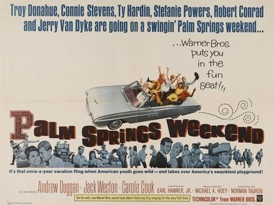 Palm Springs Weekend, 1963, Directed by Norman Taurog