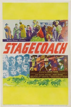 Stagecoach, 1939, Directed by John Ford
