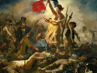 Liberty Leading the People, 1830
