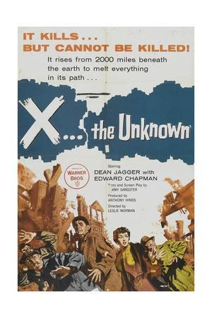 X: the Unknown, 1956, Directed by Leslie Norman