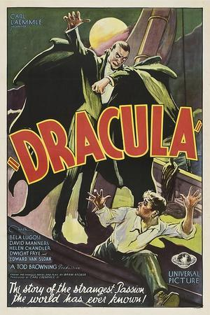 Dracula, 1931, Directed by Tod Browning