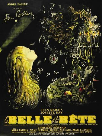 "Beauty And the Beast, 1946, ""La Belle Et La Beïte"" Directed by Jean Cocteau"