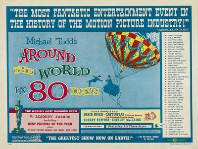 """Around the World In 80 Days, 1956, """"Around the World In Eighty Days"""" Directed by Michael Anderson"""