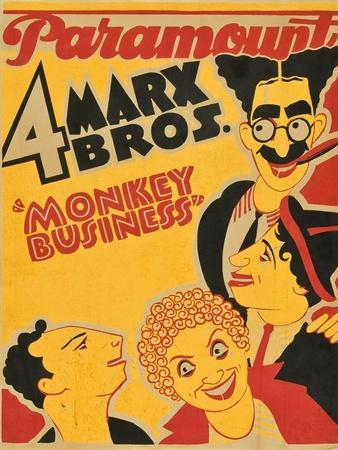 Monkey Business, 1931, Directed by Norman Z. Mcleod
