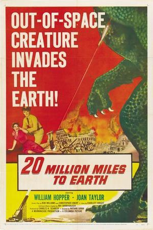 "The Giant Ymir, 1957, ""20 Million Miles To Earth"" Directed by Nathan Juran"