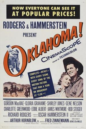 Oklahoma!, 1955, Directed by Fred Zinnemann