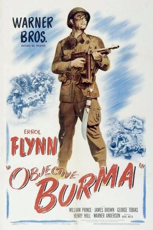 Objective, Burma!, 1945, Directed by Raoul Walsh