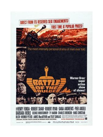 Battle of the Bulge, 1965, Directed by Ken Annakin