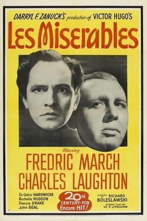 Les Miserables, 1935, Directed by Richard Boleslavski