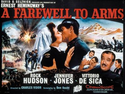 A Farewell To Arms, 1957, Directed by Charles Vidor