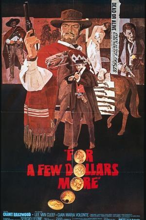 "For a Few Dollars More, 1965, ""Per Qualche Dollaro In Piu"" Directed by Sergio Leone"