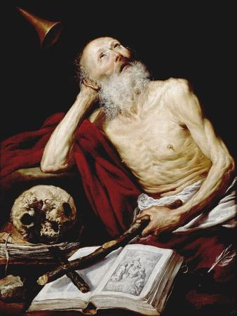 Saint Jerome, 1643, Spanish School