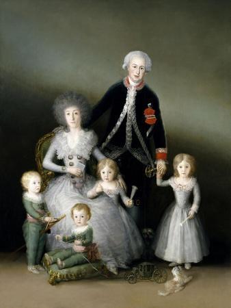 The Duke And Duchess of Osuna And Their Children, 1787, Spanish School