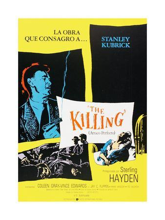 """Bed of Fear, 1956, """"The Killing"""" Directed by Stanley Kubrick"""