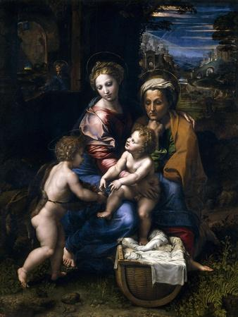 The Holy Family, Or the Pearl, 1519-1520, Italian School