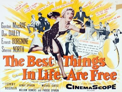 """The Best Things in Life are Free"" 1956, Directed by Michael Curtiz"