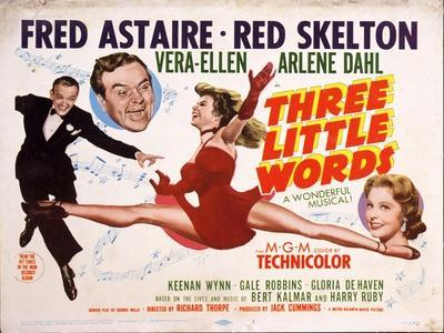 """""""Three Little Words"""" 1950, Directed by Richard Thorpe"""