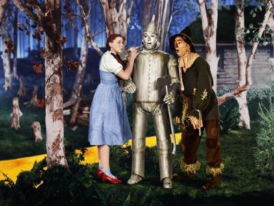 "Jack Haley, Judy Garland, Ray Bolger ""The Wizard of Oz"" 1939, Directed by Victor Fleming"