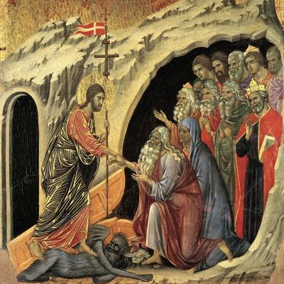 Maestà - Passion: Descent To Hell, 1308-1311