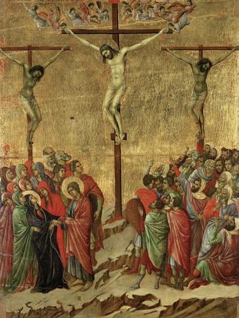 Maestà - Passion: Crucifixion', 1308-1311
