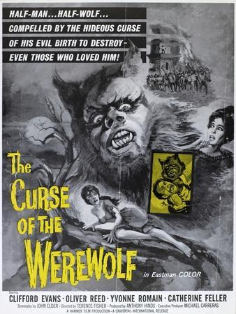 """The Wolfman, 1961, """"The Curse of the Werewolf"""" Directed by Terence Fisher"""