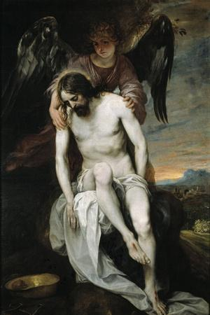 Dead Christ Held by An Angel, 1646-1652