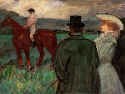 At the Race, 1899