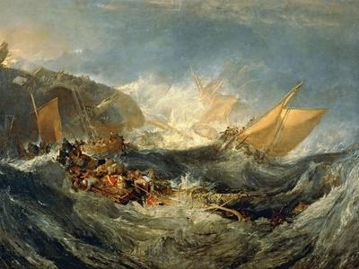 The Wreck of a Transport Ship, 1805