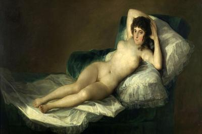 The Nude Maja, 1795-1800, Spanish School