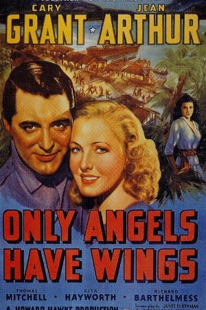 Only Angels Have Wings, Cary Grant, Directed by Howard Hawks, 1939