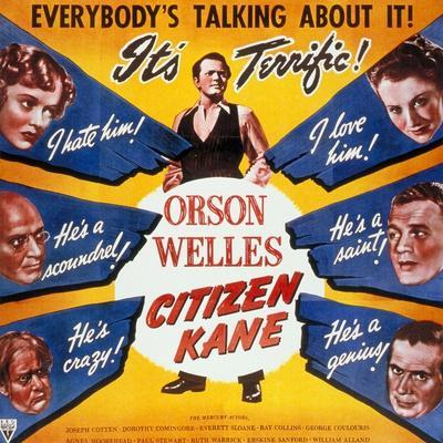 "American, 1941, ""Citizen Kane"" Directed by Orson Welles"