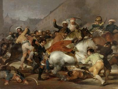 The Second of May 1808 In Madrid: the Charge of the Mamelukes, 1814, Spanish School