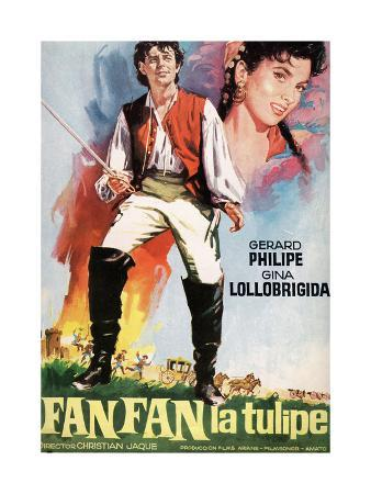 "Fan-fan the Tulip, 1952, ""Fanfan La Tulipe"" Directed by Christian-jaque"
