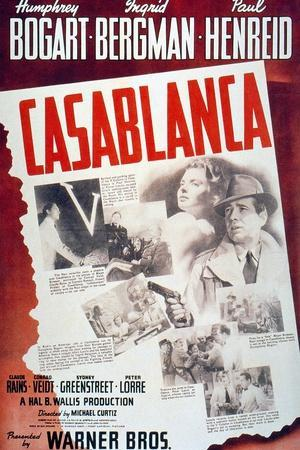 """Everybody Comes To Rick's, 1942, """"Casablanca"""" Directed by Michael Curtiz"""
